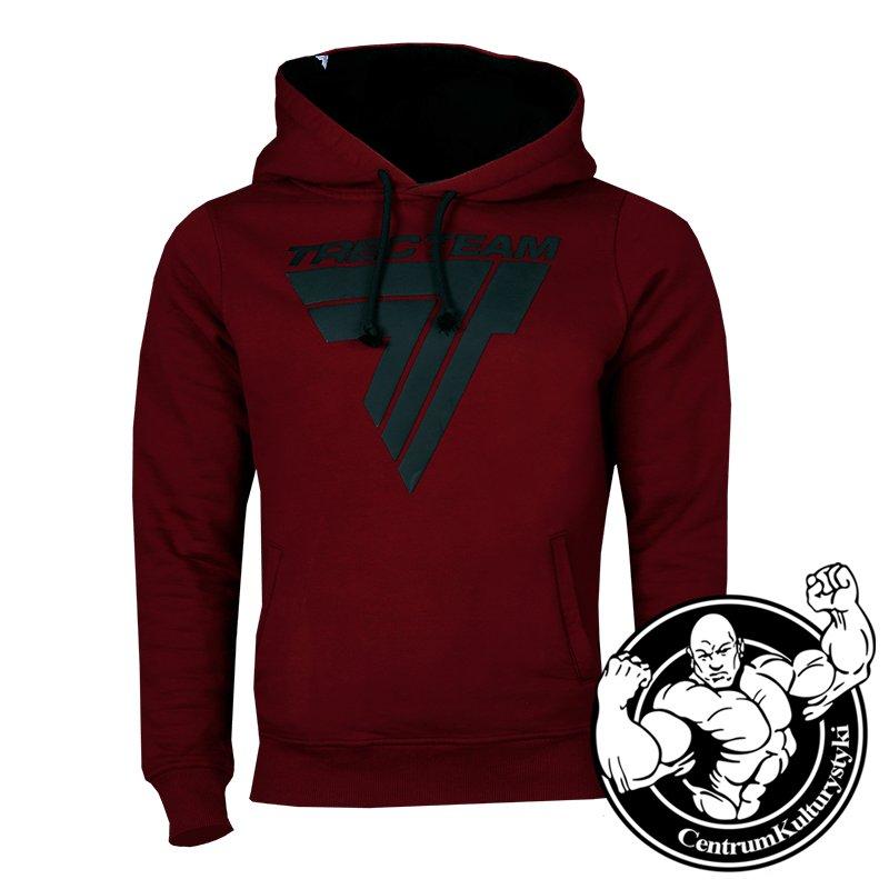 dc14824e9b82 Bluza Męska Hoodie 045 Dark Red - Trec Wear