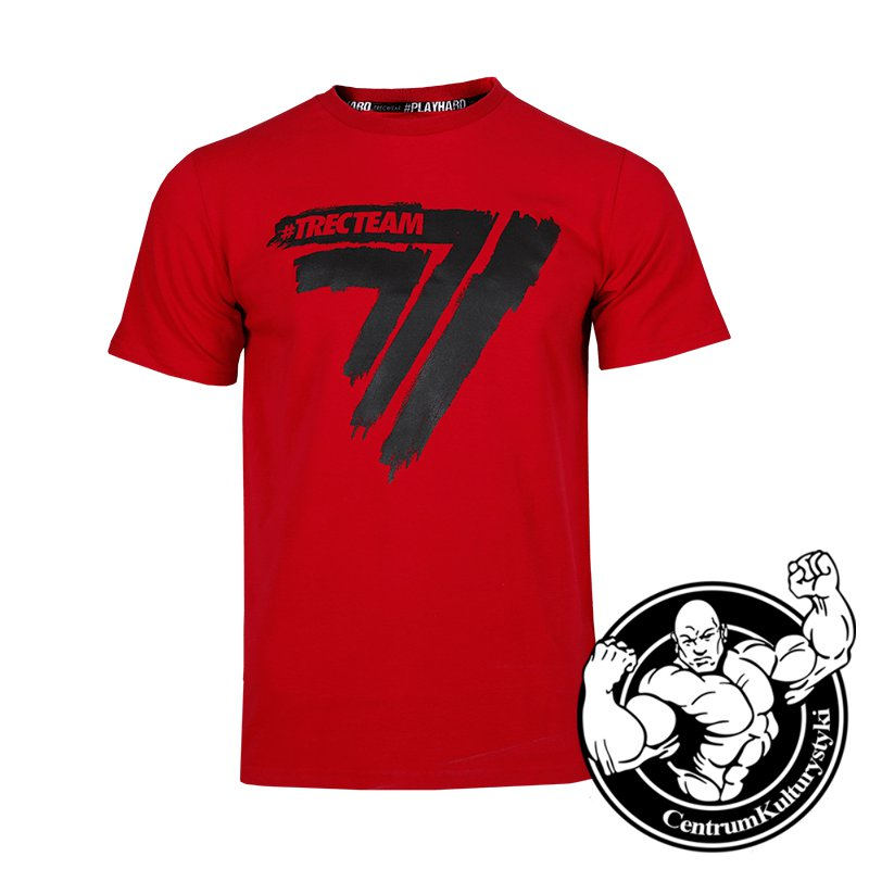 73bec293a TW T-SHIRT PLAYHARD 017 RED - Trec Wear
