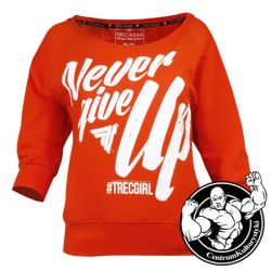 Bluza Damska Trecgirl Sweatshirt 01 Orange - Trec Wear